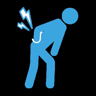 腰や背中の痛み
