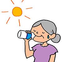 塩分と脱水 ~経口補水液の作り方~