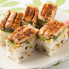大阪の夏を涼やかに!栄養たっぷり簡単押し寿司