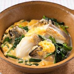 寒さ本番! 牡蠣とタラの重ね焼きでカラダほっこり
