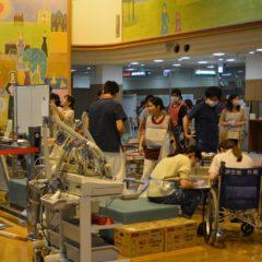 熊本病院で負傷者449人を受け入れ、済生会病院から医療チームも派遣
