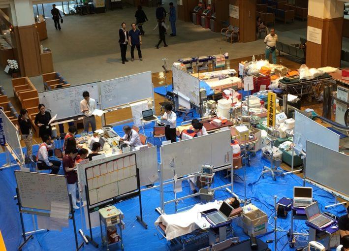 熊本地震で日本初のDCATが出動