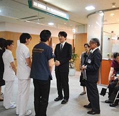 総裁・秋篠宮殿下が被災後の熊本をご訪問