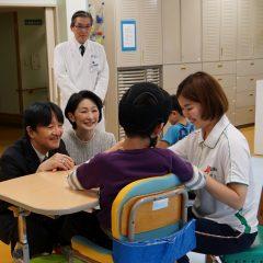 秋篠宮同妃両殿下、静岡の病院・障害者施設をご訪問