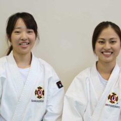 看護学生が少林寺拳法世界2位の演武を披露