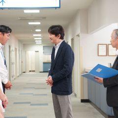 総裁・秋篠宮殿下が西日本豪雨被害の広島をご訪問