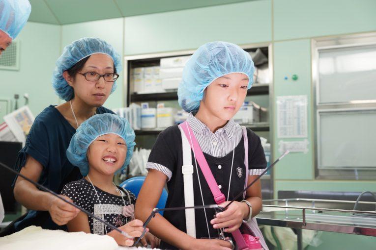 病院見学で手術室を探検