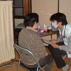 新潟県中越地震に対する緊急援助