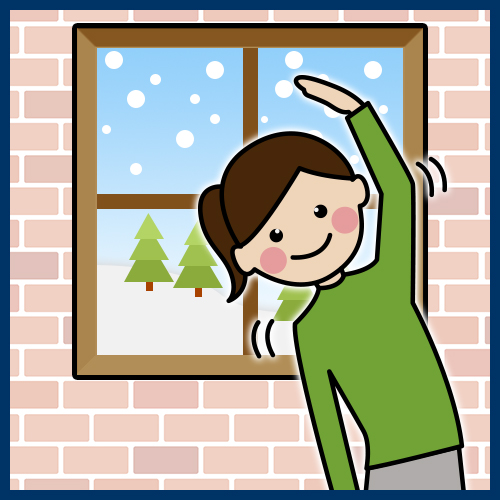 寒い季節こそストレッチしよう! 肩こり予防のすすめ
