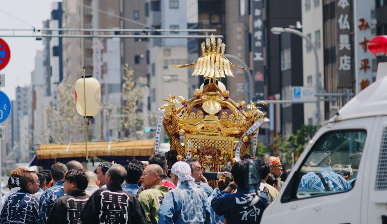 疫病退散を願う日本のお祭り