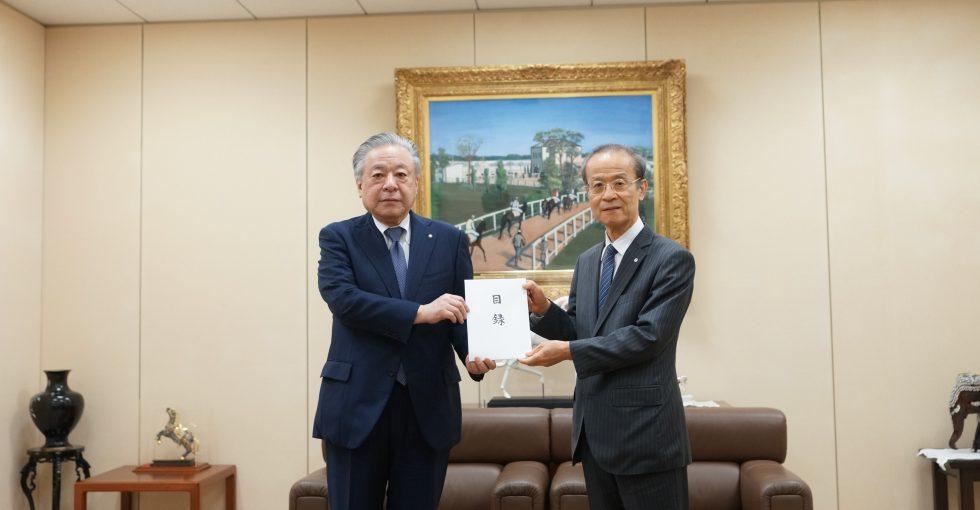 日本中央競馬会が済生会に5億円寄付