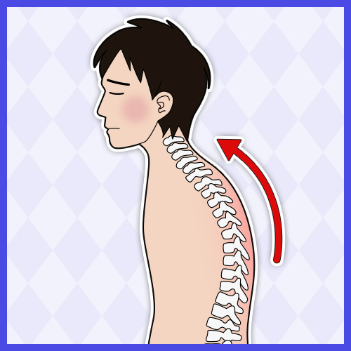 姿勢の悪さが重大な病を引き起こす? 正しい姿勢で健康に過ごそう