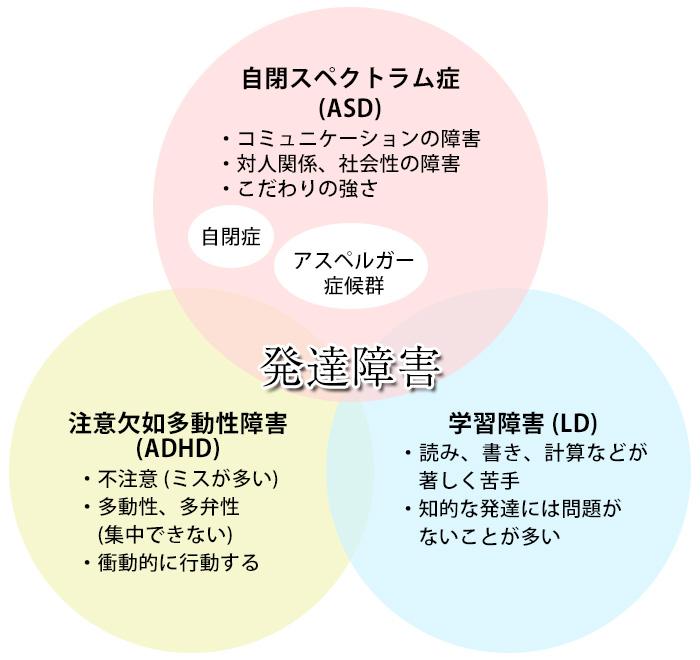 発達障害の分類