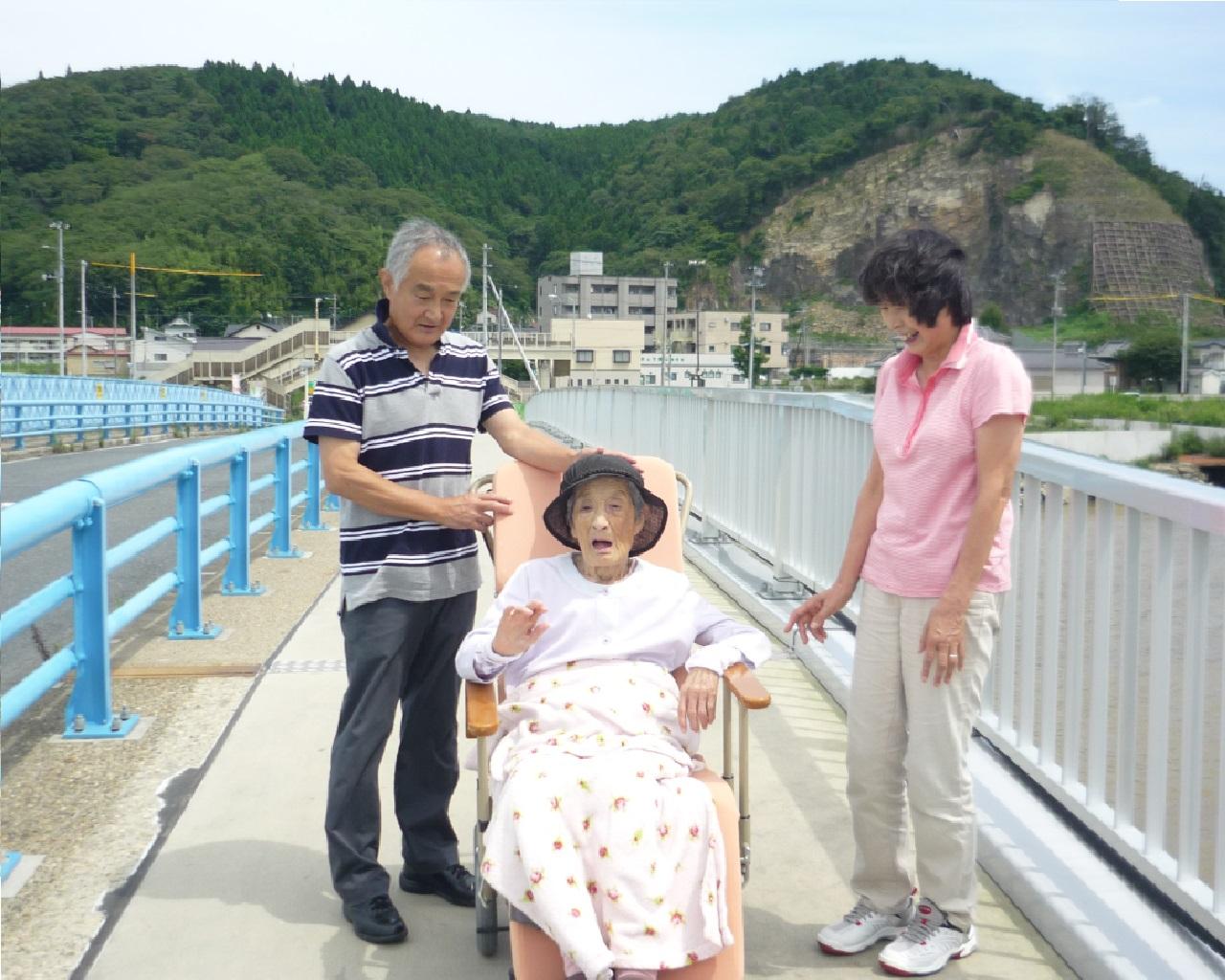 3・11 東日本大震災から4年、100歳の里帰り
