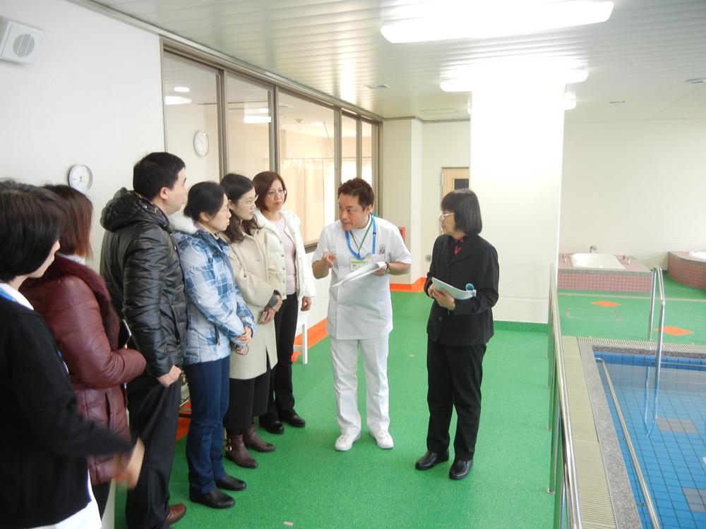 中国の高齢化に向け、上海から研修受け入れ