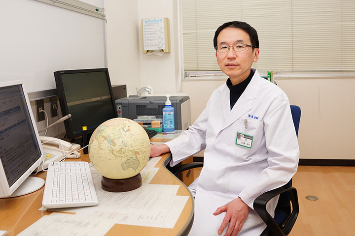 済生会鹿児島病院院長 久保園高明先生