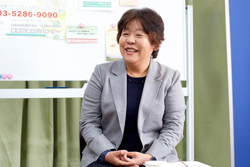 東京自殺防止センター理事の村さん(写真は昨年取材時のもの)